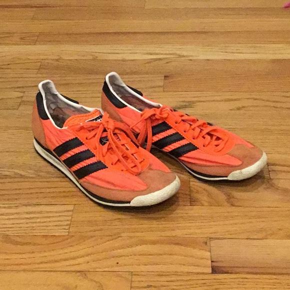adidas Shoes | Neon Orange Sneakers